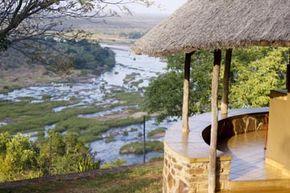 Olifants camp in Kruger Park, South Africa