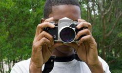 Sign your tween up for a photography class.