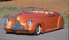 The Afterglow was a modern tribute to the Jimmy Summers Mercury. See more custom car pictures.