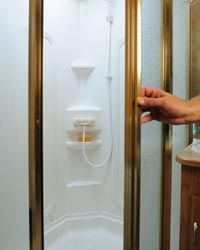 Simple add-ons to your RV bathroom can make it much safer.