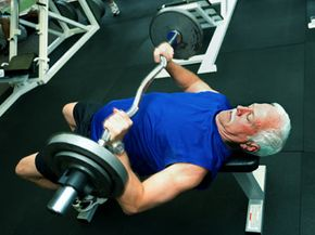 You don't have to go this far for strength straining -- simple hand weights are just fine.