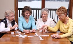 Board and care homes provide a way for seniors to socialize.