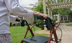You'll be able to walk yourself from assisted living to the nursing wing at a continuing care retirement community.
