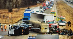 Poor maintenance of air brakes can lead to accidents.