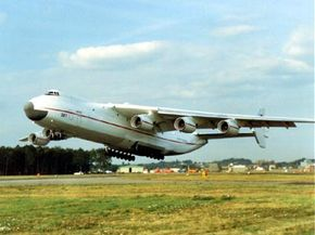 The Antonov AN-225 is the world's largest cargo plane.