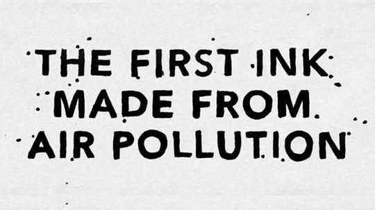 Turning Air Pollution Into Ink