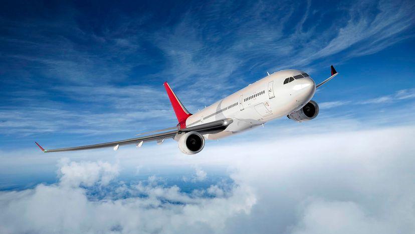 round airplane windows
