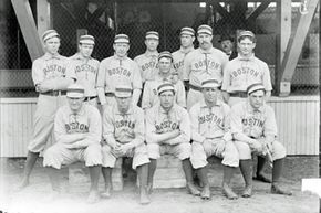 The American League gained credibility when the Boston Red Sox (known at the time as the Boston Americans) won the first World Series in 1903.