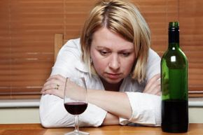 If you're diagnosed with either alcohol abuse or depression, you have a higher chance of being diagnosed with the other.
