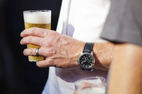 The standard rate that the human liver can metabolize alcohol? One ounce per hour.