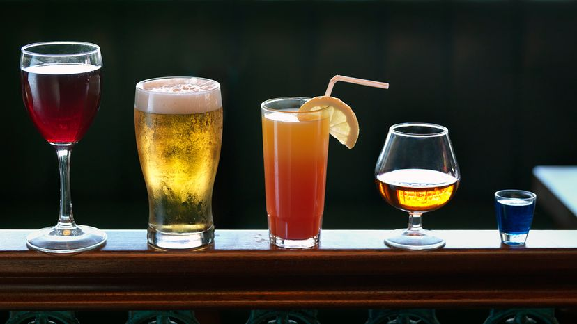 types of alcohol