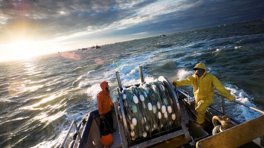 Why was Alaskan fishing named the most dangerous job in the world?