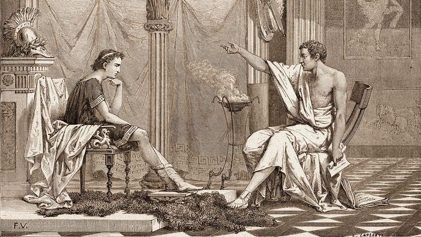 Alexander the Great, Aristotle