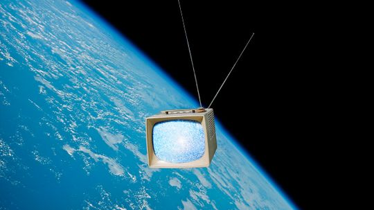 Could aliens really watch old TV shows?