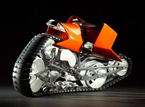 """""""Baal,"""" another all-terrain concept from Keller and Schlootz."""