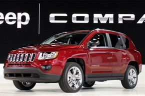 The Jeep Compass is revealed at the 2011 North American International Auto Show in Detroit, Mich.