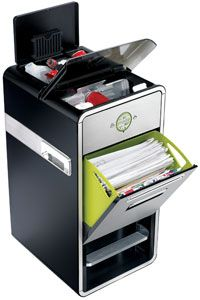 A Mode all-in-one recycling system.
