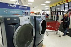 A washer dryer combo takes up the space of just one of these.