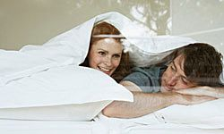 Organic cotton bedding is a smart choice if you suffer from allergies.