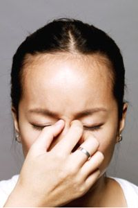 Allergic reactions may include runny nose, sneezing and itchy,watery eyes. See staying healthy pictures to learn more.