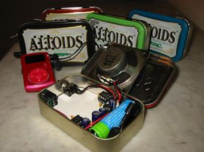 The functional and stylish Altoids speaker