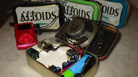 How to Make a Speaker from an Altoids Tin