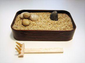 An original Altoids tin Zen garden, by Kate Pruitt