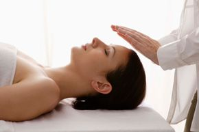 Reiki, also known as palm healing, is a type of alternative medicine. See more staying healthy pictures.