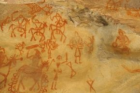 Perhaps creating a world through cave paintings was a prototype for today's alternate reality games.