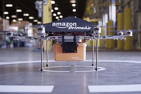 Amazon is aiming to trim that one-day delivery down by using drones.
