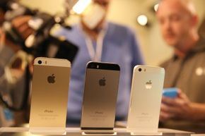 The Apple iPhone 5s is one of the Amazon Fire phone's primary competitors.
