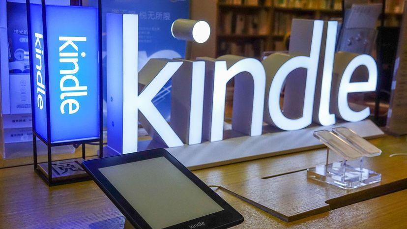Amazon Kindle e-reader, China