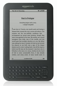 Lighter than many paperbacks, the Amazon Kindle can hold a small library of books. See more pictures of essential gadgets.
