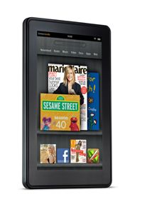 The Kindle Fire is a full-color tablet running a version of the Android operating system.