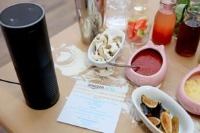 Your Echo can control your smart home devices if your hands are busy chopping.
