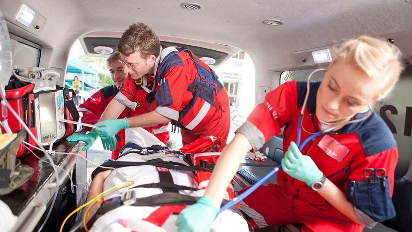 ambulance crew