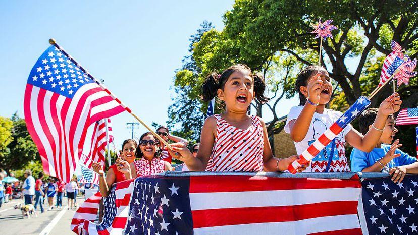 4th of July parade, California