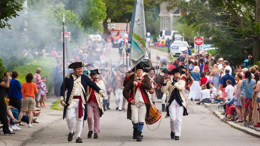 4th of July parade, American Revolution