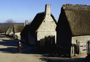 Recreation of Plymouth Colony