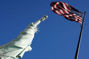 Image Gallery: The American Flag What's the definition of the American dream? See more pictures of the American flag.