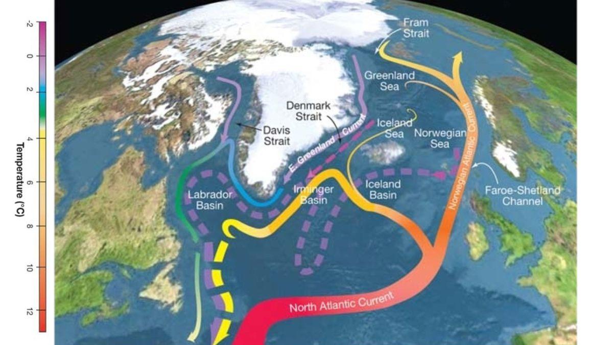 大西洋の海流が弱まり、崩壊の危機に瀕している、と研究は述べています