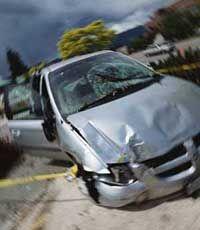 Serious car crashes can trigger a case of dissociative amnesia.