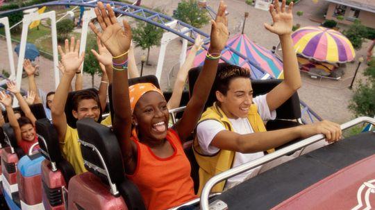 Who tests out amusement park rides?