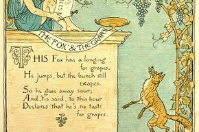 """The story of """"The Fox and the Grapes"""" remind us that it is easy to despise what you cannot get."""