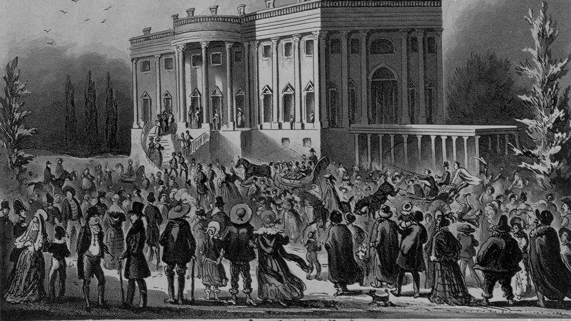 huge mob Andrew Jackson Inauguration