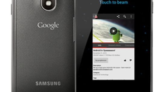 What is Android Beam?