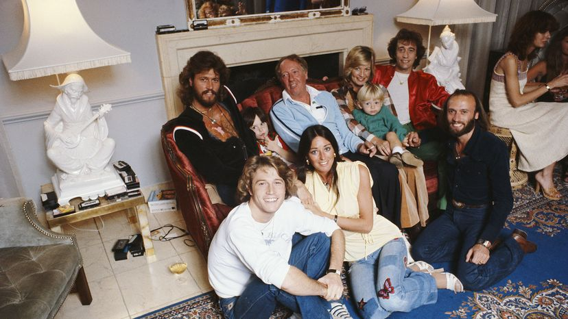 Bee Gees, Andy Gibb, Family