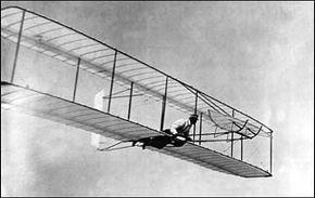 Wright Brothers Practice Flight