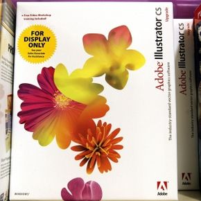 Adobe Illustrator was introduced in 1987. Since then, many versions have been released, including this 2005 offering.