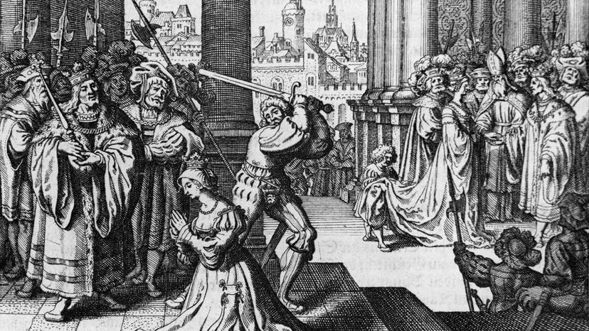 execution of Anne Boelyn